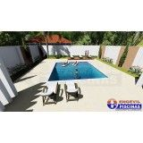 piscinas de concreto sob medida preço Santa Paula