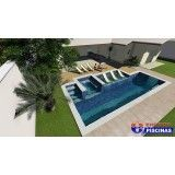 piscinas personalizadas em são paulo na Anália Franco