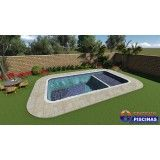 preço de piscina sobre medida Invernada