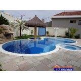 preço de piscina transbordante na Santa Maria