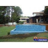 preço para construir uma piscina de alvenaria em Itatiba