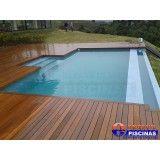 preço piscina concreto armado suspensa Bairro Santa Maria