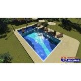 preço piscina customizada na Vila Formosa