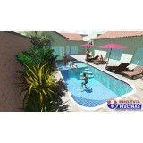 preço piscina sob medida Condomínio Maracanã