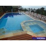 preço projeto piscina residencial Guarujá