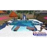 preços de piscina sob medida no Jardim Ana Maria