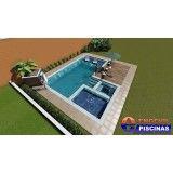 projeto de piscina customizada em Itupeva