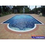 projeto de piscina de concreto Água Azul