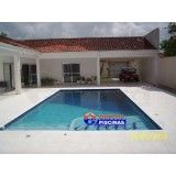 projeto de piscina olímpica Maia