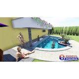 projeto de piscina personalizada preço Jardim São Caetano