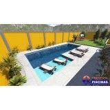 projeto de piscina personalizada no Arujá