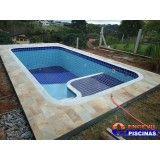 projetos de piscinas de concreto Vila Municipal