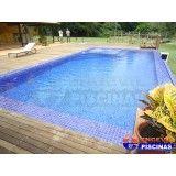 quanto custa piscina de alvenaria com deck Macedo