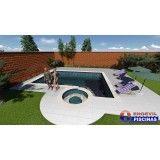 quanto custa piscina de alvenaria personalizada no Jardim Alvorada