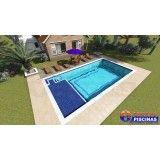 quanto custa piscina de concreto armado sob medida Vila Municipal