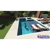 quanto custa piscina sob medida de concreto Jardim Carla