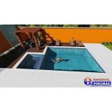 quanto custa projeto de piscina personalizada em Interlagos