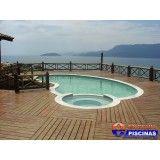 quanto custa projeto de piscina residencial em Jandira
