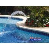 quanto custa serviços de manutenção de piscina Homero Thon