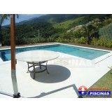 quanto custa um projeto piscina residencial São Roque