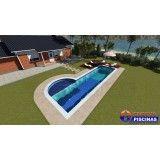 quanto custa uma piscina customizada no Jardim Bela Vista