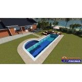 quanto custa uma piscina customizada na Vila Cristina