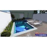 quanto custa uma piscina sob medida Jardim Ciprestes