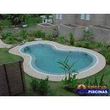 reforma de piscina de alvenaria com azulejo Hortolândia