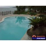 reforma de piscina de alvenaria com escada Maia