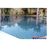 reforma de piscina de alvenaria de canto Casa Verde