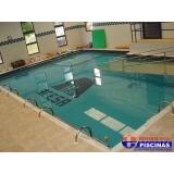 reforma de piscina de alvenaria pequena Taubaté