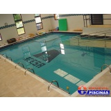 reforma de piscina de alvenaria pequena Vila Cristina
