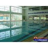 reforma de piscina de azulejo com deck Cabreúva