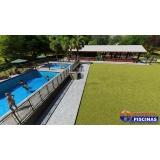 reforma de piscina de azulejo com vazamento Bairro Silveira