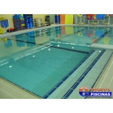 reforma de piscina de azulejo verde Jardim Veloso