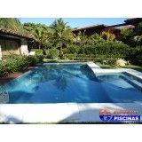 venda de piscina com cascata na Vila Cristina