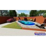 venda de piscina personalizada Cata Preta