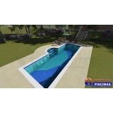 venda de piscina sob medida em Suzano